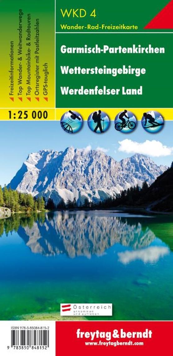 F&B WKD4 Garmisch-Partenkirchen, Wettersteingebirge, Werdenfelser Land