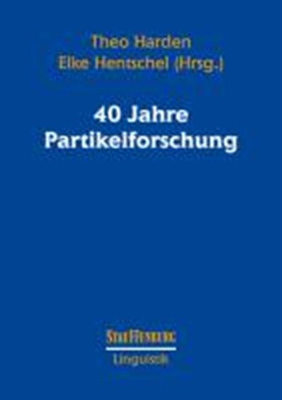 40 Jahre Partikelforschung
