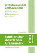 (Un)informativität und Grammatik | Sonja Müller |