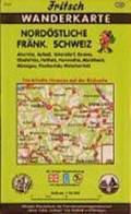 Nordöstliche Fränkische Schweiz 1 : 35 000. Fritsch Wanderkarte   auteur onbekend  