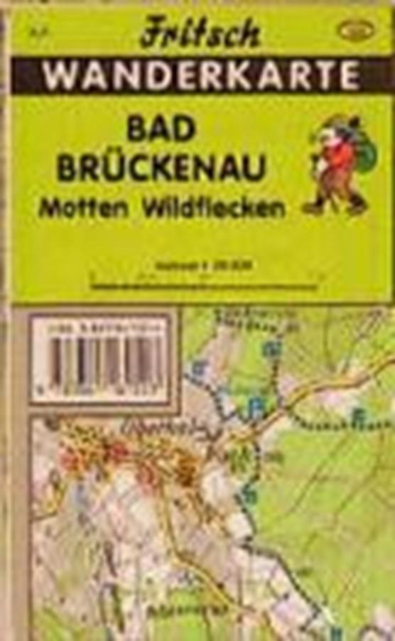 Bad Brückenau 1 : 35 000. Fritsch Wanderkarte