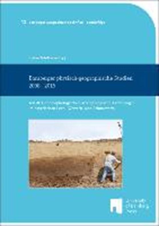 Bamberger physisch-geographische Studien 2008 - 2015