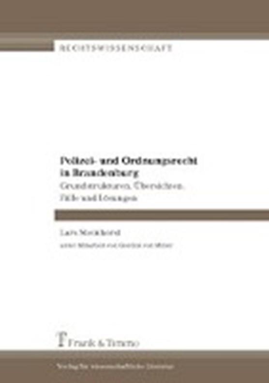 Polizei- und Ordnungsrecht in Brandenburg