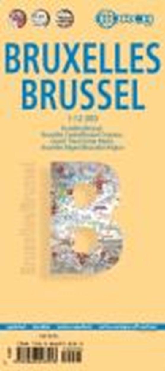 Brüssel / Brussels / Bruxelles 1 : 12 000