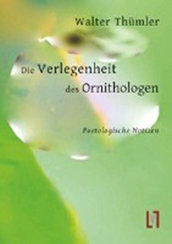 Thümler, W: Verlegenheit des Ornithologen