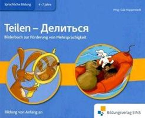 Bilderbuch Biliteralität Teilen, Russisch-Deutsch