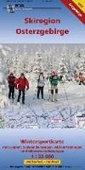 Wintersportkarte Skiregion Osterzgebirge 1:33 000   auteur onbekend  