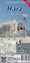 Wintersportkarte Harz 1 : 35 000   auteur onbekend  