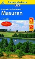 Radwanderkarte BVA Radwandern in Masuren 1:75.000   auteur onbekend  