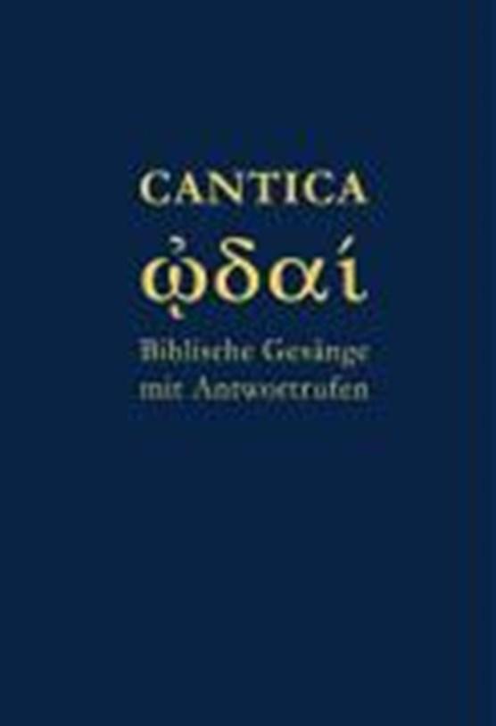 Joppich, G: Cantica