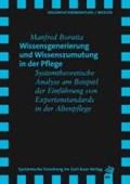 Borutta, M: Wissensgenerierung und Wissenszumutung | Manfred Borutta |