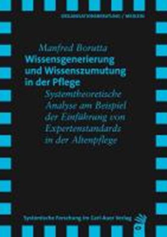 Borutta, M: Wissensgenerierung und Wissenszumutung