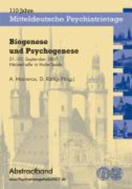 Biogenese und Psychogenese