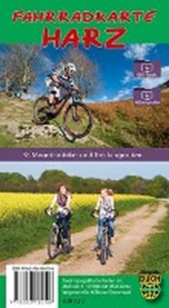 Fahrradkarte Harz - standard