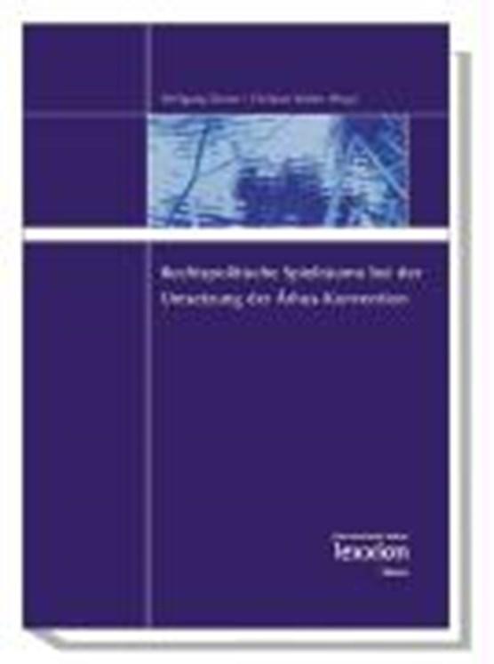 Rechtspolitische Spielräume bei der Umsetzung der Arhus-Konvention