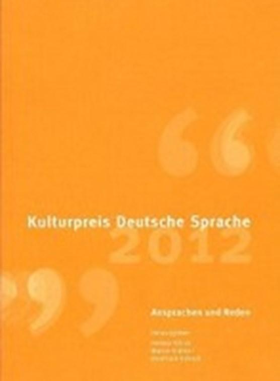 Kulturpreis Deutsche Sprache 2012