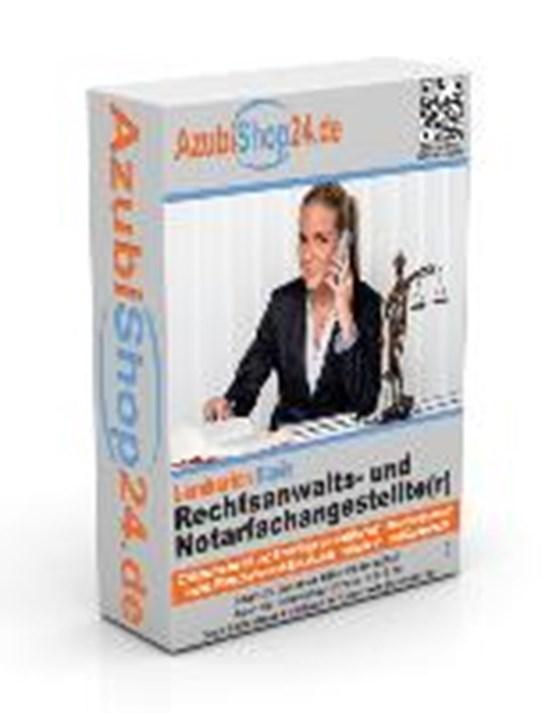 AzubiShop24.de Basis-Lernkarten Rechtsanwalts- und Notarfachangestelle/-r