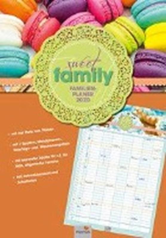 """PLANER """"SWEET FAMILY"""" Kalender 2020"""