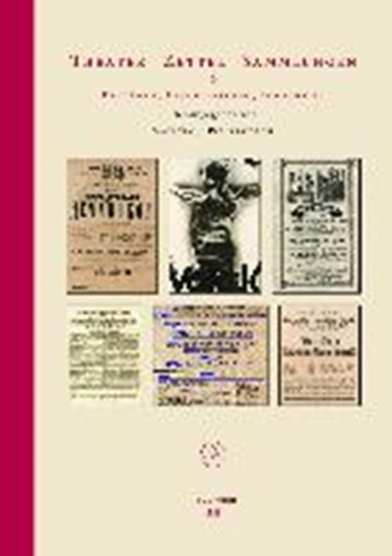 Theater - Zettel - Sammlungen 2