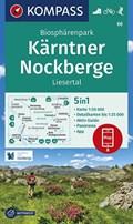 Biosphärenpark Kärntner Nockberge, Liesertal 1:50 000   auteur onbekend  