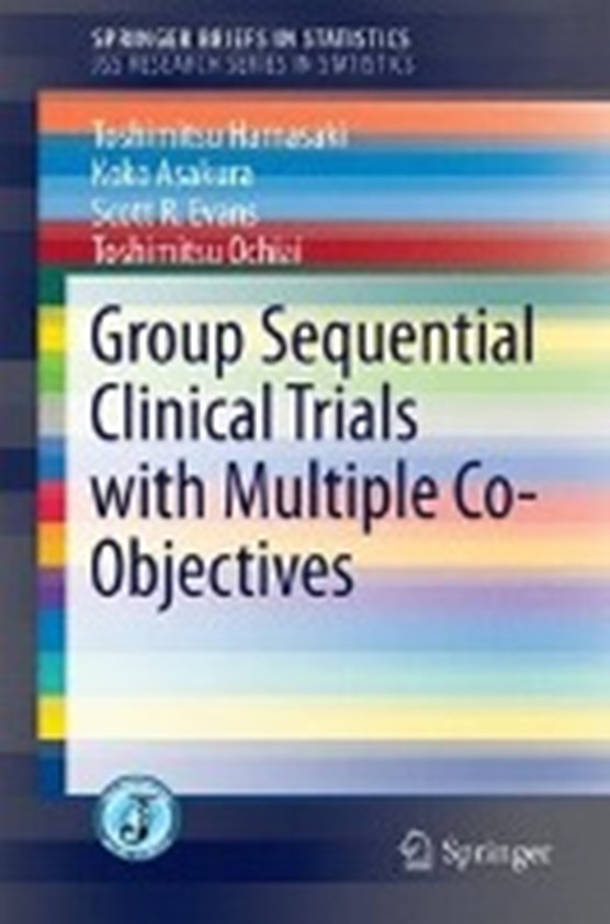 Group-Sequential Clinical Trials with Multiple Co-Objectives