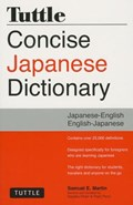 Tuttle concise japanese dictionary : japanese-english english-japanese | Martin, Samuel E. ; Perry, Fred |