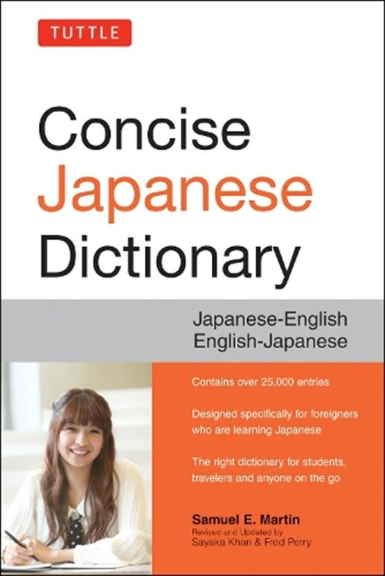 Tuttle concise japanese dictionary : japanese-english english-japanese