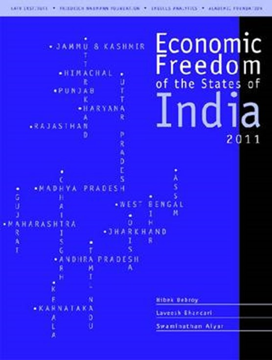 Economic Freedom of the States of India, 2011