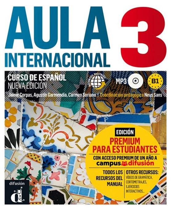 Aula Internacional 3 Libro del alumno + MP3 versión Premium