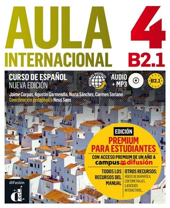 Aula Internacional 4 Libro del alumno + MP3 versión Premium