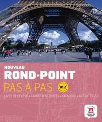 Nouveau Rond-point pas à pas B1.2 livre de l'élève + cahier d'activités + CD | auteur onbekend |