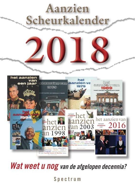 Aanzien Scheurkalender 2018