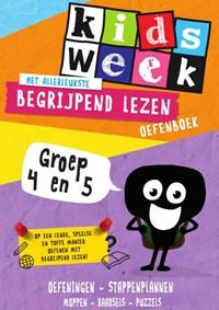 Het allerleukste begrijpend lezen oefenboek Groep 4 en 5   Kidsweek  