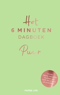 Het 6 minuten dagboek - PUUR   Dominik Spenst  