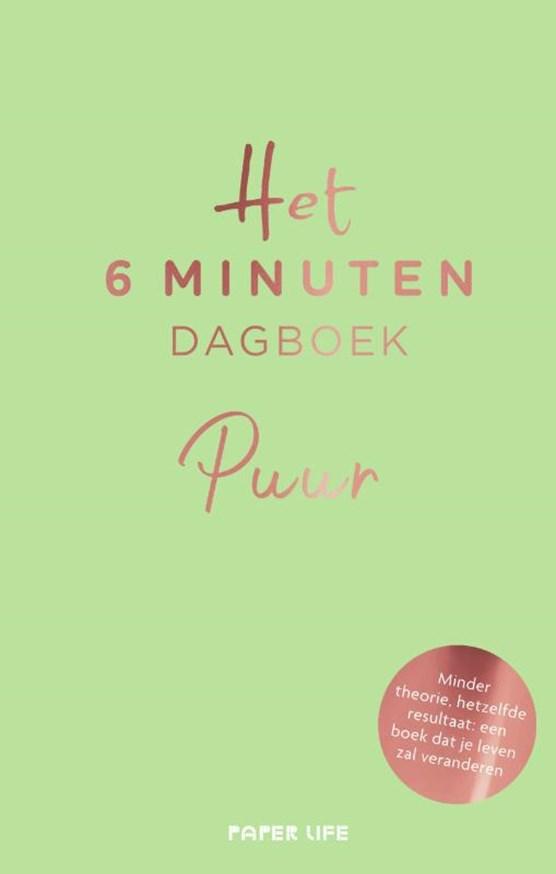 Het 6 minuten dagboek - PUUR