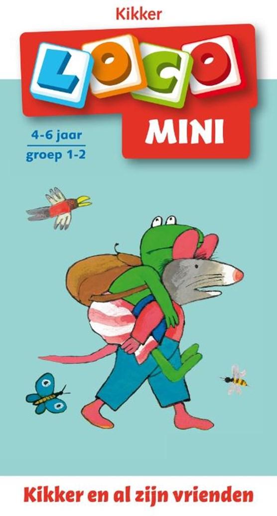 Mini loco 1 Kikker en al z'n vriendjes
