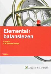 Elementair balanslezen   G. de Man & A.M. Franssen-Honings  
