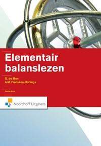 Elementair balanslezen   G. de Man ; A.M. Franssen - Honings  