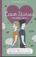 Love stories Yelien en blue boy   Hetty Van Aar ; Danny De Vos  