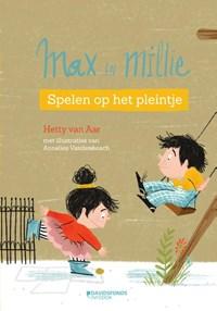Max & Millie 2 Spelen op het pleintje   Hetty Van Aar  