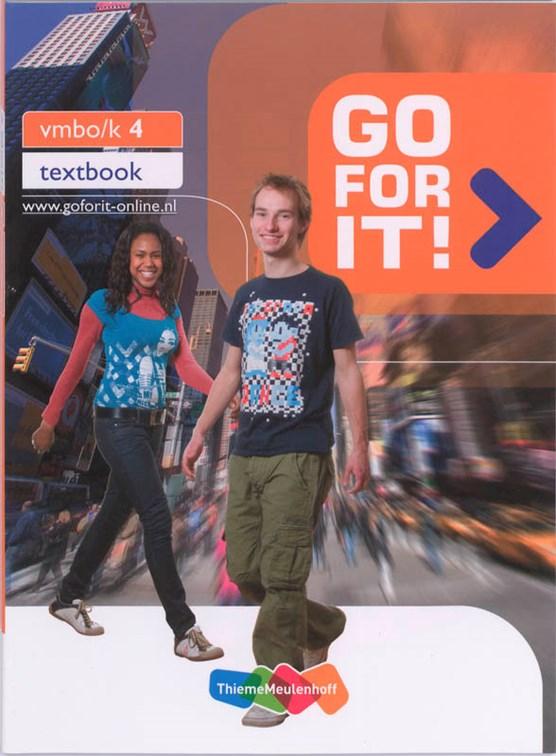 Go for it! Vmbo-K 4 Tekstboek