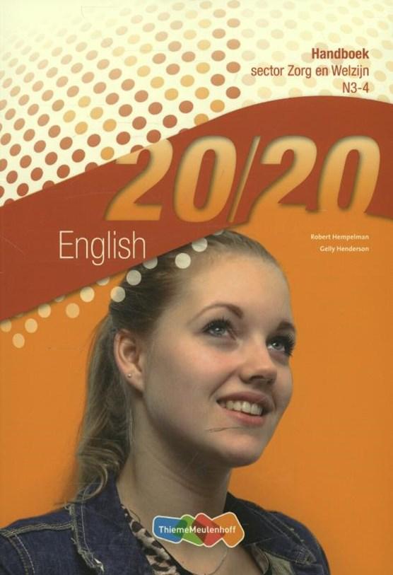 20/20 English Sector zorg en welzijn N3-4 Handboek
