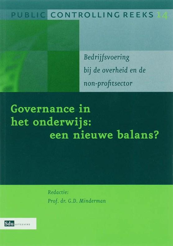 Governance in het onderwijs : een nieuwe balans