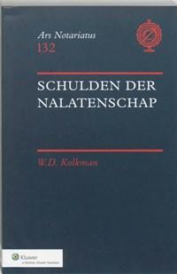 Schulden der nalatenschap | W.D. Kolkman |