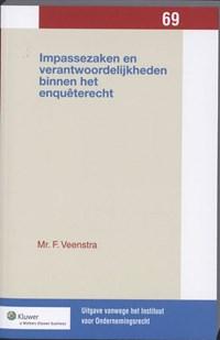 Impassezaken en verantwoordelijkheden binnen het enquêterecht   F. Veenstra  