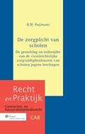 De zorgplicht van scholen   Brechtje Maria Paijmans  