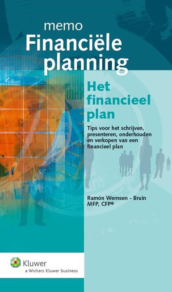 Memo financiële planning - het financieel plan