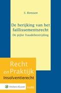 De herijking van het faillissementsrecht | Samantha Renssen |
