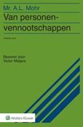 Van personenvennootschappen | Victor Meijers |