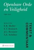 Openbare orde en veiligheid | E.R. Muller ; E.T. Brainich ; J.G. Brouwer ; A.E. Schilder |